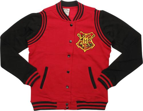 Harry Potter Gryffindor Quidditch Snap Jacket