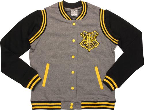 Harry Potter Hufflepuff Quidditch Snap Jacket