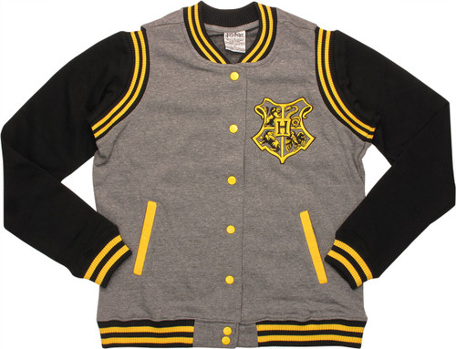 Harry Potter Hufflepuff Quidditch Snap Jacket