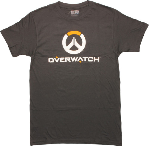 Overwatch Logo Name T-Shirt