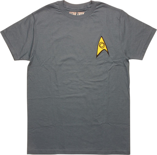 Star Trek Classic Science Officer T-Shirt