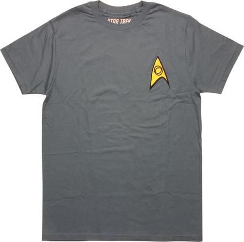 Star Trek Classic Science Officer T-Shirt
