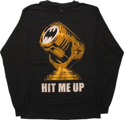 Batman Hit Me Up Long Sleeve T-Shirt