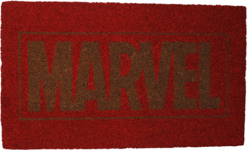 Marvel Comics Logo Doormat