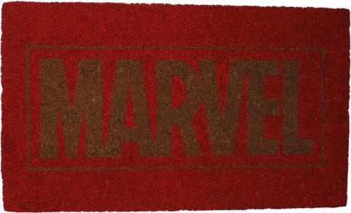 Marvel Comics Logo Doormat