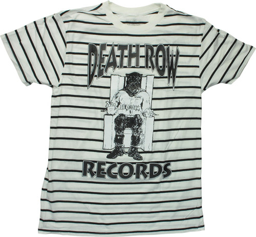 Death Row Records Electric Chair Logo T-Shirt