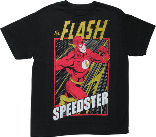 Flash Speedster Metallic Highlights Youth T-Shirt