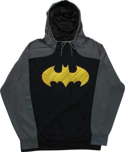 Batman Logo Lightweight Pullover Hoodie