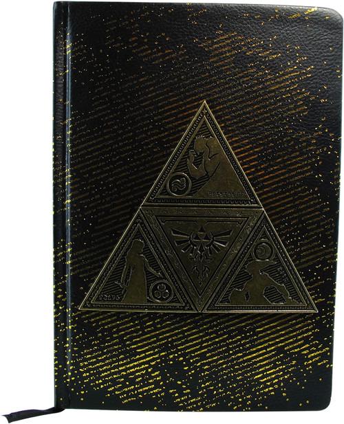Zelda Metal Triforce Premium A5 Journal Notebook