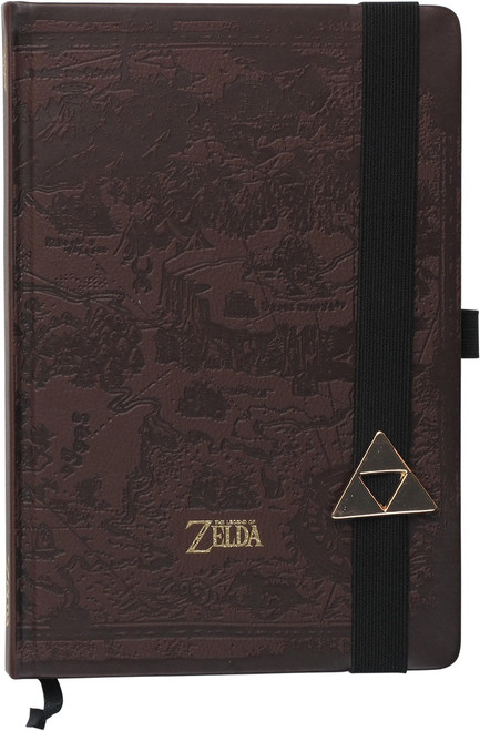 Zelda Hyrule Maps Premium A5 Journal Notebook