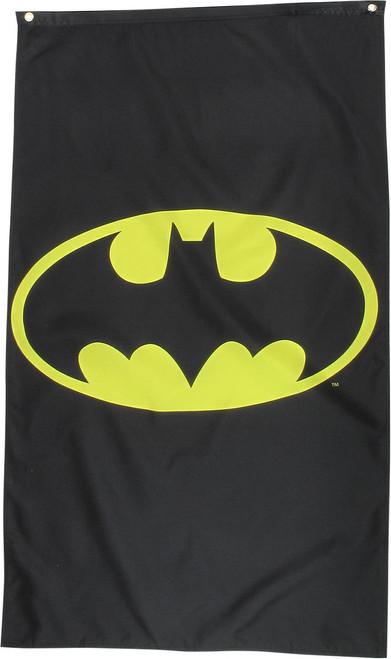 Batman Classic Logo Banner Flag