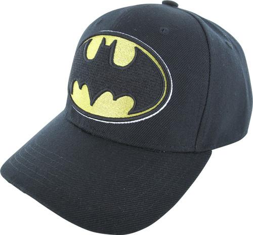 Batman Classic Logo Velcro Hat