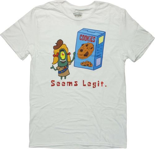 Spongebob Squarepants Plankton Seems Legit T-Shirt