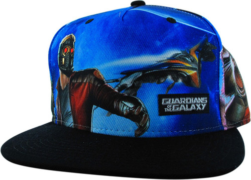 Guardians of the Galaxy Hero Group Snapback Hat