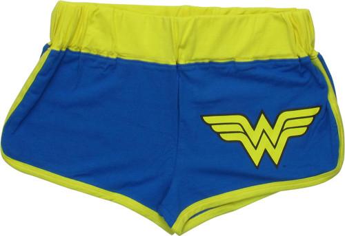 Wonder Woman Classic WW Logo Juniors Shorts