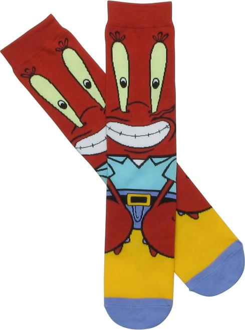 Spongebob Squarepants Mr. Krabs Sub Crew Socks