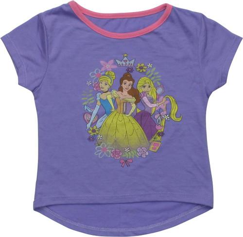 Disney Princess Trio Purple Girls Toddler T-Shirt