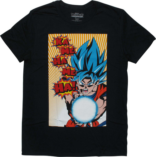 Dragon Ball Super Broly Goku KaMeHaMeHa T-Shirt