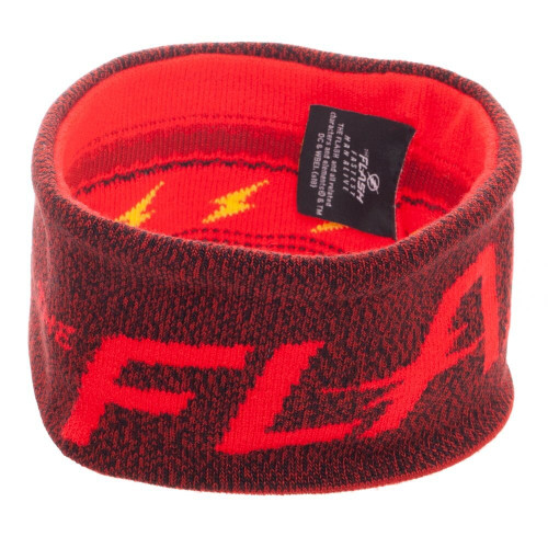 Flash Text Logo Reversible Red Headband