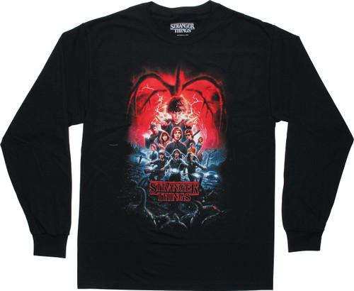 Stranger Things Season 2 Poster LS T-Shirt