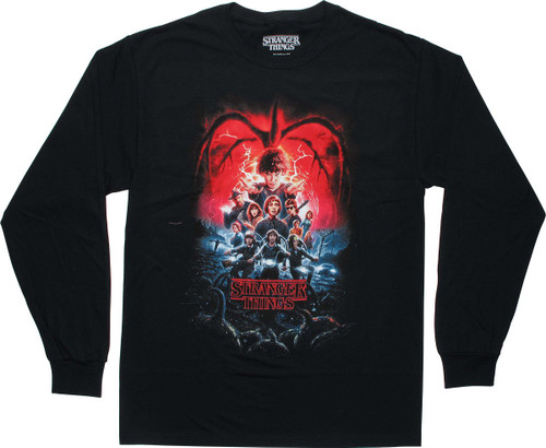 Stranger Things Season 2 Poster LS T-Shirt