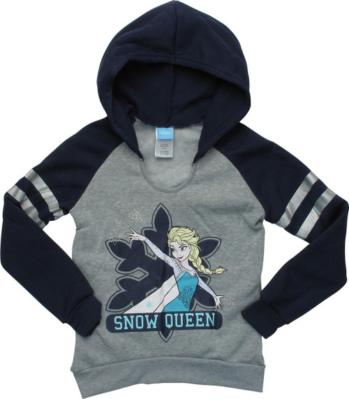 Frozen Elsa Snow Queen Pullover Youth Hoodie