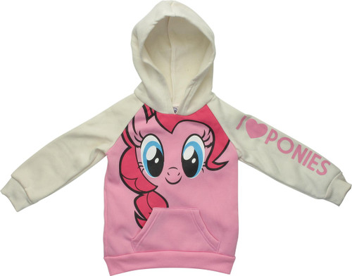 My Little Pony Pinkie I Love Ponies Toddler Hoodie