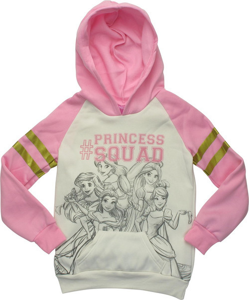 Disney Princess Htag Princess Squad Youth Hoodie