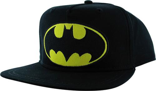 Batman Classic Logo Flatbill Snapback Youth Hat