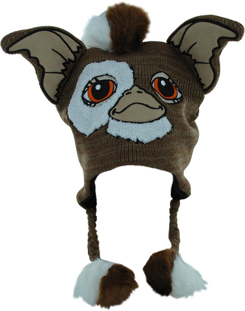 Gremlins Gizmo Face Tasseled Laplander Beanie