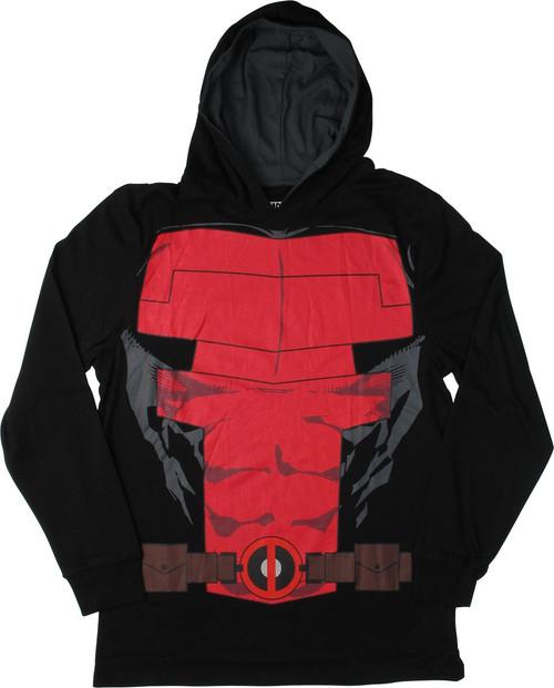 Deadpool Lightweight Suit Up Pullover Hoodie