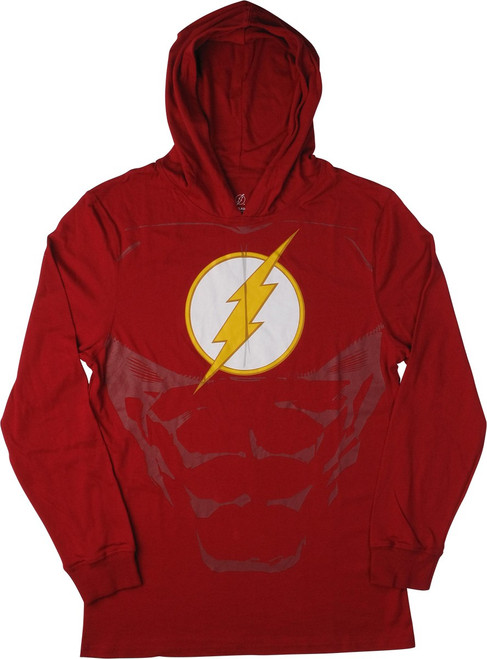Flash Logo Lightweight Suit Up Pullover Hoodie