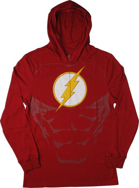 Flash Logo Lightweight Suit Up Pullover Hoodie