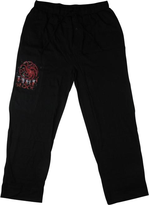Game of Thrones Targaryen Fire Blood Pajama Pants