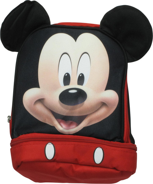 Mickey Mouse Face Roadster Racers Lunch Bag
