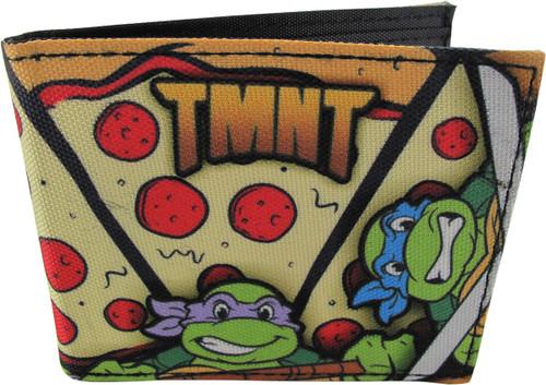 Ninja Turtles TMNT Pizza Bi-Fold Wallet