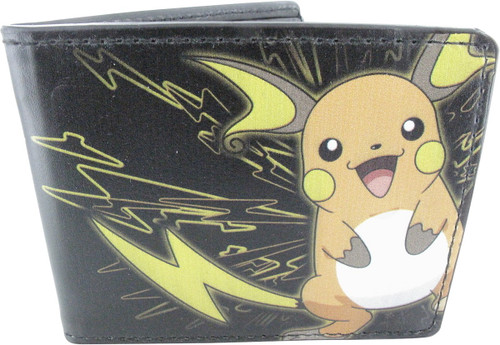 Pokemon Raichu Pikachu Electric Wallet