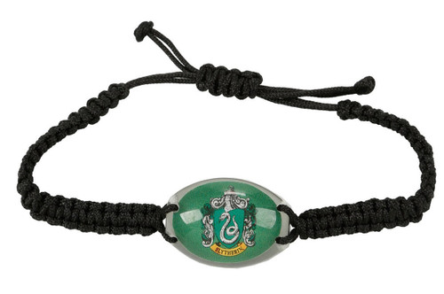 Harry Potter Slytherin House Crest Cord Bracelet