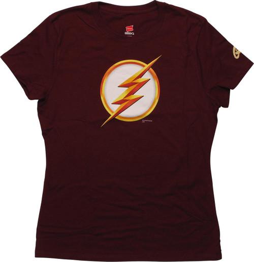 Flash TV Season Two Symbol Juniors T-Shirt