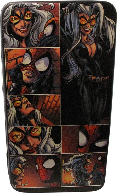Spiderman and Black Cat Scenes Clutch Wallet