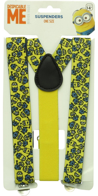 Despicable Me Minions Allover Print Suspenders