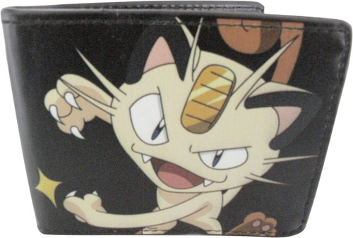 Pokemon Meowth Scratch Attack Wallet
