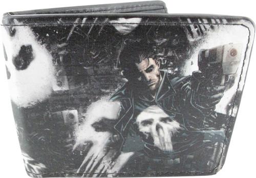 Punisher Shooting Skulls Wallet