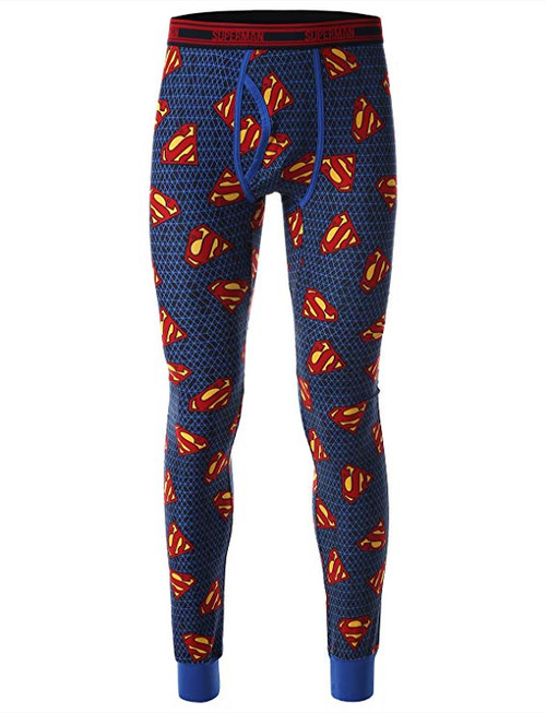 Superman AoP Logos Cool Johns Long Underwear