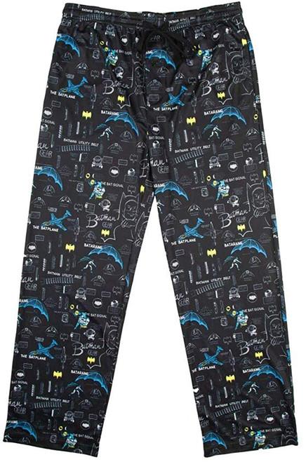 Batman Gadgets Black Lounge Pants