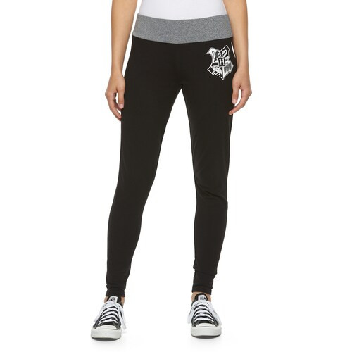 Harry Potter Hogwarts Crest Juniors Yoga Pants