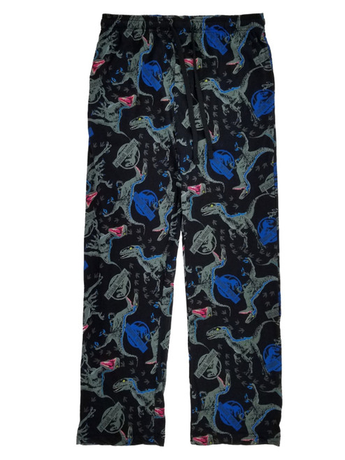Jurassic World Logo Blue Raptor Lounge Pants