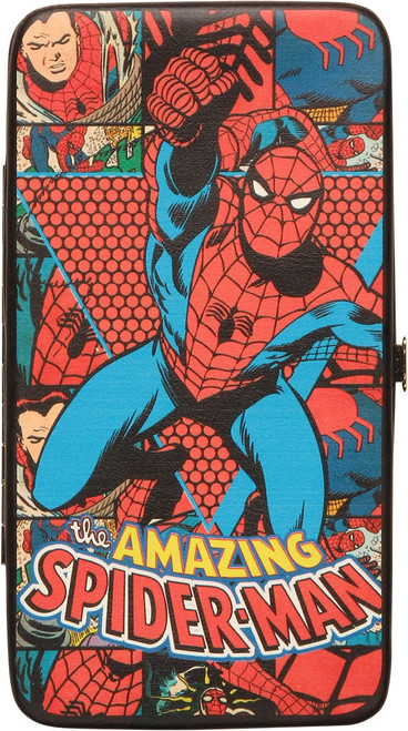Amazing Spiderman Swing Clutch Wallet