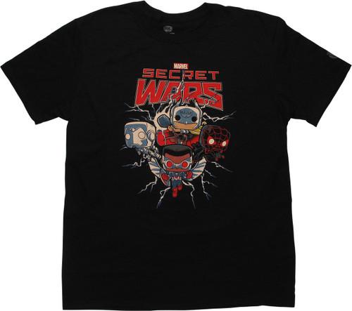 Marvel Secret Wars Funko Pop T-Shirt