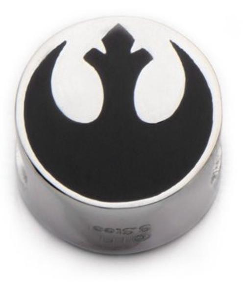 Star Wars TFA Rebel Logo SST Steel Bead Charm